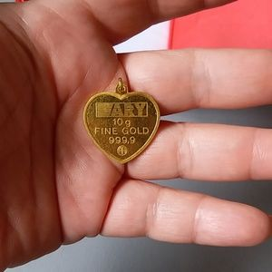 24k gold Jewelry - Stunning 24k solid gold 3 dimensional pendant 10gr
